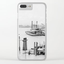 New Orleans 1900 Clear iPhone Case