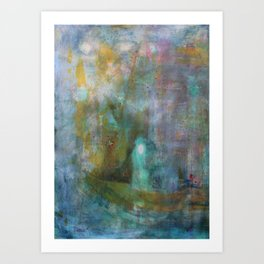 Pay Your Debts And Do Not Cross The Water Again Art Print