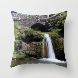 The Three Shires Head Throw Pillow