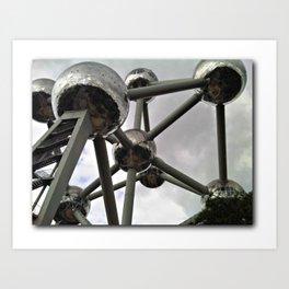 Atomium in Brussels Belgium Art Print