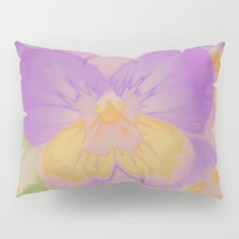 Pansies, The Earth Laughs In Flowers Pillow Sham