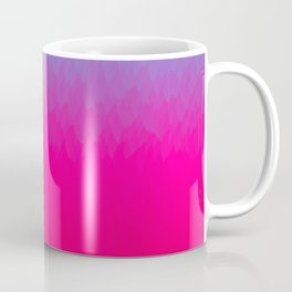 Blue purple and pink ombre flames Coffee Mug