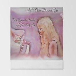 Stevie Nicks - Gypsy Throw Blanket