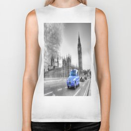 Westminster Bridge Evening Biker Tank