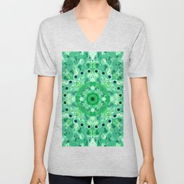 MANDALA NO. 44  #society6 Unisex V-Neck