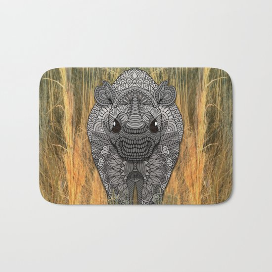 Ornate Rino Bath Mat