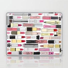 Lipsticks Makeup Collection Illustration Laptop & iPad Skin