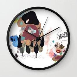 SayHello Wall Clock