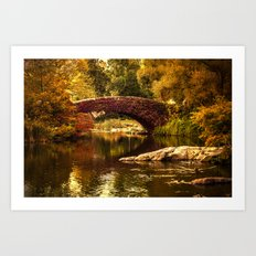 The Gapstow Bridge Art Print