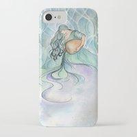 aquarius iPhone & iPod Cases featuring Aquarius by Aline Souza de Souza