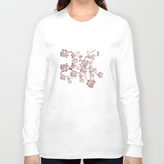 Cherry Blossom - In Memory of Mackenzie Long Sleeve T-shirt
