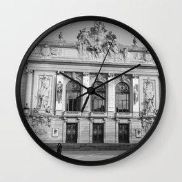 Opéra de Lille, France Wall Clock
