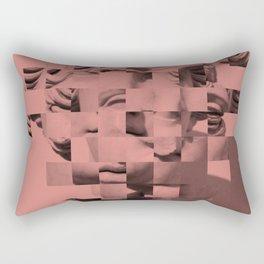 Pink sculpture Rectangular Pillow