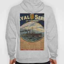 Vintage poster - Naval Service of Canada Hoody