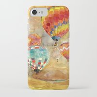 takmaj iPhone & iPod Cases featuring Balloons by takmaj