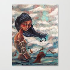 The Longing:  A Selkie's Song Canvas Print