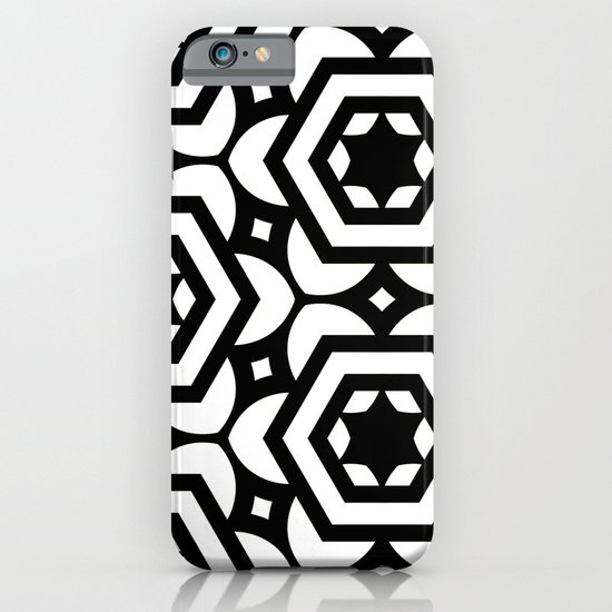 Vogelaar Black & White Pattern iPhone & iPod Case