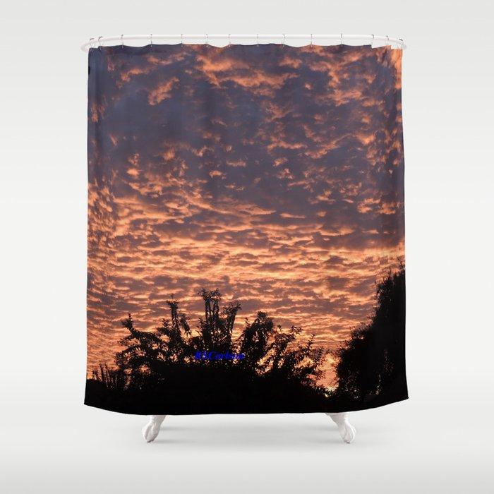 Atmospherics Number 2 Sunset From Costco San Dimas Shower Curtain