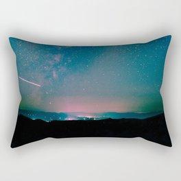 Desert Summer Milky Way Rectangular Pillow
