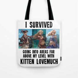 I survived - Second Age of Retha by AM Sohma Tote Bag