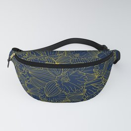 Daffodils by Night Fanny Pack