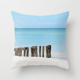 Leading to the Water Throw Pillow
