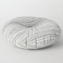 Water -minimalist line drawing Floor Pillow