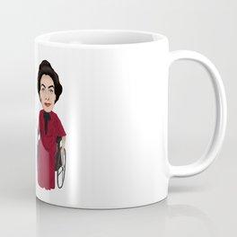 Whatever Happened to Baby Jane, Bette Davis, Joan Crawford Inspired Illustration Coffee Mug