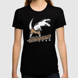 Funny Chinosaur Chinos Dinosaurs Jurassic Design T-shirt