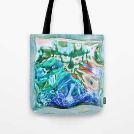 427 - Abstract glass design Tote Bag