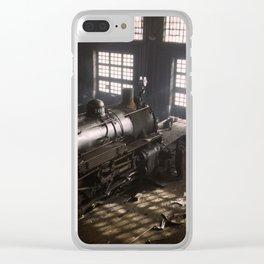 Locomotive Repair Shop - December 1942 Clear iPhone Case