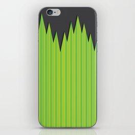 Japanese Plastic Grass iPhone Skin