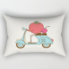 Cherry Tomato Rectangular Pillow
