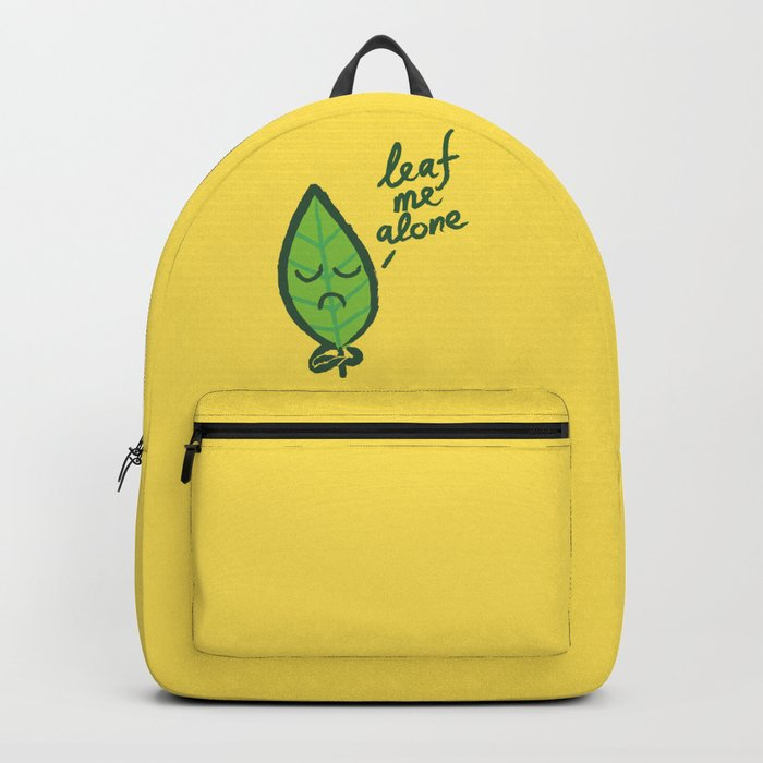 The introvert leaf Backpack