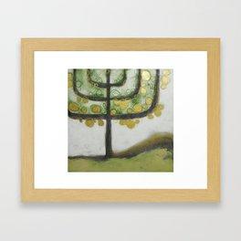 L'albero della luce Framed Art Print