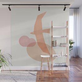 Abstraction_BIRD Wall Mural