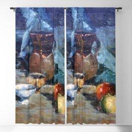 Bodegón a espátula/Natureza morta/Still life Blackout Curtain