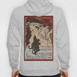 "Alphonse Mucha ""Salon des Cent (Salon of the Hundred)"", 1896 Hoody"