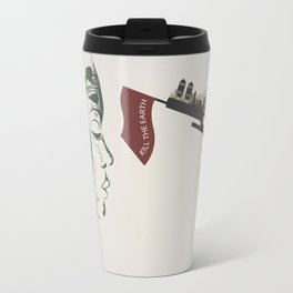 forest girl and gung Travel Mug