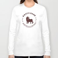 gryffindor Long Sleeve T-shirts featuring Gryffindor House by Shelby Ticsay