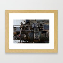 Switched  Framed Art Print