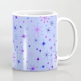 Atomic Starry Night in Purple Coffee Mug