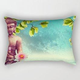 Buddha Zen Morning Rectangular Pillow