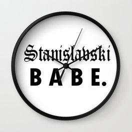 Stanislavski BABE Wall Clock
