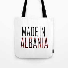 Made In Albania Tote Bag