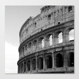 Colosseum Rome Canvas Print