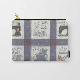 Sewing Friends #2 Carry-All Pouch