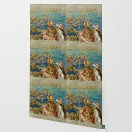 "Auguste Renoir ""Baigneuses"" Wallpaper"