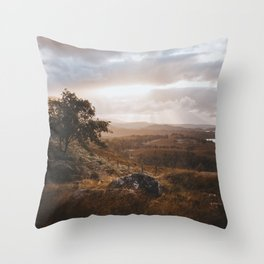 Wester Ross - Landscape and Nature Photography Throw Pillow