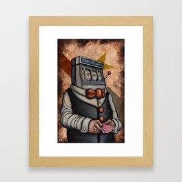 Oyster Mirror Series no.5 Framed Art Print